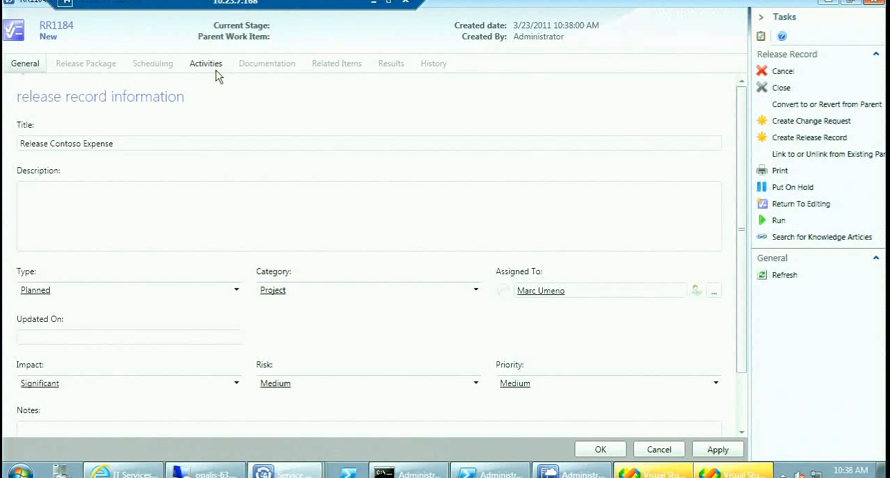 scsm orchestrator create relationship phpmyadmin