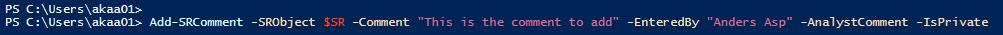 Script syntax